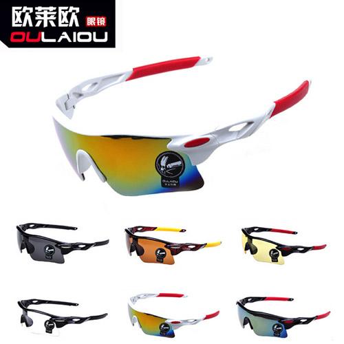 Brand designer outdoor sports bicycle bike riding cycling eyewear sunglasses women men fashion glasses oculos glass goggles(China (Mainland))
