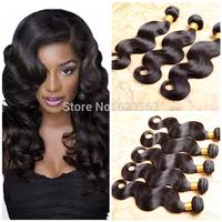 """Brazilian Virgin Hair body wave 3pc 4pc 8""""-30"""" remy human hair weave Realove hair extension cheap brazilian hair weave bundles"""