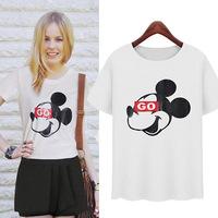 new 2014 woman brand new autumn summer t-shirts brand top roupas femininas women famous brand women t-shirt plus size tops