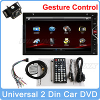 100% Pure Android 4.2.2 HD 1080P Car pc GPS Navigation 2 DIN DVD CD Radio Player Stereo Bluetooth USB SD Universal Russian Menu