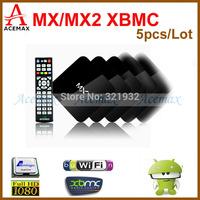 5pcs/Lot ACEMAX IPTV 18 PRO/MX2 Amlogic 8726 MX Dual Core XBMC Android TV Box 1G RAM 8G ROM Dual ARM Cortex A9 WIFI HDMI Adults