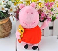 New baby kids peppa pig plush toys george pig dolls anime peppa pig toys hold Teddy Stuffed Animals Dolls 20011 b011