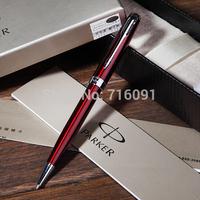 Free Shipping DHL ballpoint pen parker pens office supplies school  black color parker sonnet original metal pen promotion