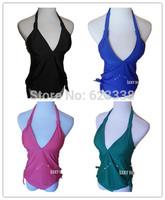 Free shipping new in 2014 summer sexy vs Women swimwears Push Up 2 piece set outdoor sports bathing suit Beach Wear swimsuit