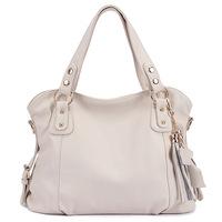 2014 Fashion Designer Brand Women Handbag Genuine Leather Bag Cowhide Tassel Bag Messenger Shoulder Bags bolsos Vintage Handbags
