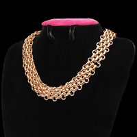 Cheap Promotion!!! gold chunky necklace jewelry 2015 collar accessories for women top quality!