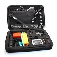 Gopro Case go pro bag Large For Gopro Hero3+ Hero3 Hero2 Gopro Bags Camera Accessories POV 4.0 Black