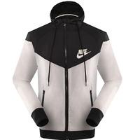 2014 spring Autumn new men's sports jacket hooded jacket Men Fashion Thin Windbreaker Zipper Coats Free Shipping!