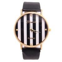 Holiday Sale Top Quality Geneva Brand Cute Design Leather Strap Watch Women Men Dress Quartz Wristwatches New Arrive GO115