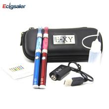 20Pcs/Lot Ecigsaler Double E-XY Smart  Electronic Cigarette Kits 1.3ml Atomizer with 350mah Battery Vaporizer Pen Starter kits