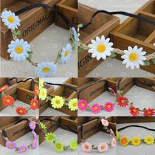 popular elastic flower headband