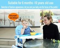 Free shipping multifunctional baby dining chair child dining table and chairs baby dining chair rocking horse