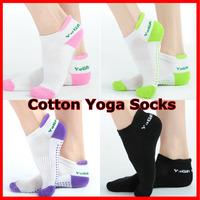Non-Slip Yoga Socks Women Meias Pilates Socks For Yoga Women'S Professional Cotton Cheap Fitness Sport 2 Pairs/Lot
