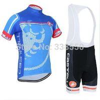 New men cycling jersey full zipper/ cycling clothing/cycling wear + Bib shorts set  breathable quick dry Summer  autumn
