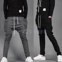 2014 Summer Men's Harem Pants Fashionable Personality Casual Loose Hip Hop Dance Male Trousers On Sale L-XXL #6 SV002179