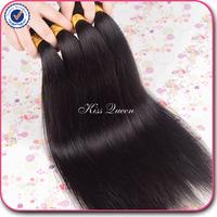 Grade 5A peruvian virgin hair straight human hair 3 pcs lot free shipping natural black hair Cheap peruvian straight virgin hair