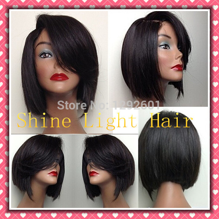 Weave Bobs With Side Bangs