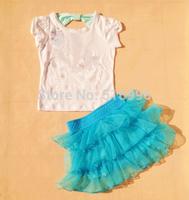 IN STOCK !  NEWEST Free Ship Frozen  Dress, Princess Anna&elsa dress,3-10Year kids gift dress, party evening dress Top Quality
