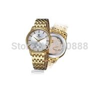 Automatic mechanical watch ultra-thin men's watch waterproof hollow out three needle watch male mechanical watches