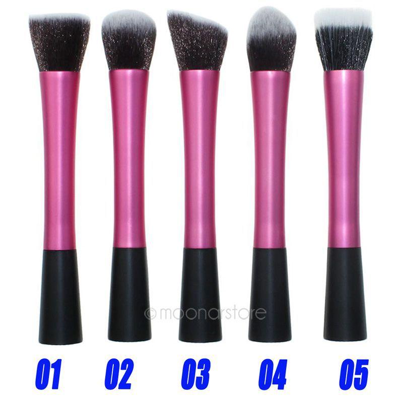 Hot Selling 1pcs Professional Powder Blush Brush Facial Care Cosmetics Foundation Brush Beauty Makeup Brushes Y55*MPJ172#M5(China (Mainland))