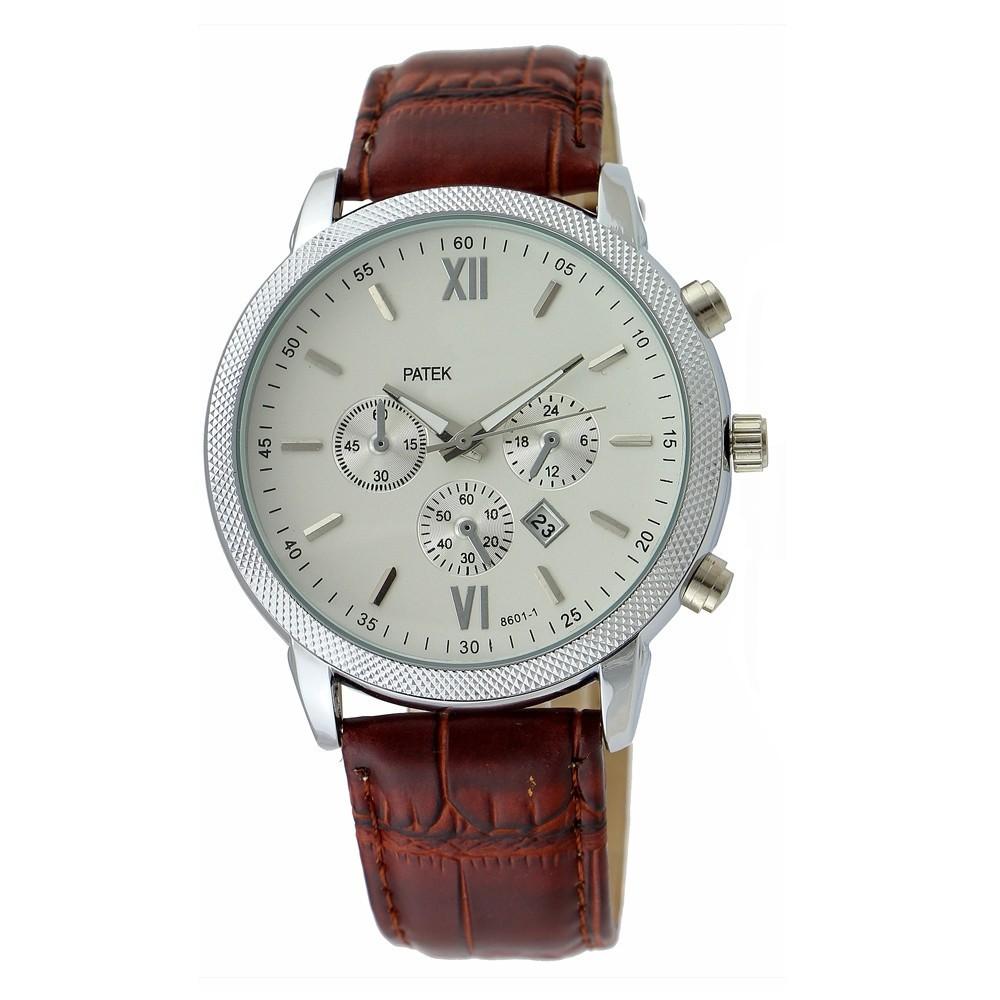 Business Luxury Brand watch Top Quality Brand Watch Men Watches Leather Starp Quartz Watch Best Gift 2014 Hot Sale(China (Mainland))