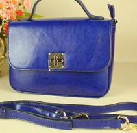 Leather handbags Korean version  the latest fashion lady shoulder bag big leather  diagonal wave packet 22.5*17*8CM NBA160 Y8PA