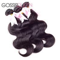 """rosa hair products malaysian body wave natural black hair malaysian virgin hair 8""""-30"""" 3 pcs lot free shipping cheap human hair"""