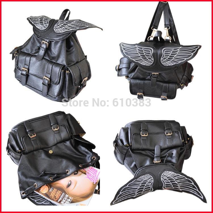 Bat Heart Backpack For Easter Black Bat Heart