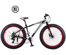Wide tires bicycle complete bike Snowmobile ATV bike mountain bike 26 inch aluminum exports 4 0