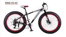 Wide tires bicycle complete bike Snowmobile ATV bike mountain bike 26 inch aluminum exports 4 0