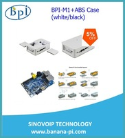 High quality Factory Banana PI+ the newest ABS Banana Pi Case fast delivery time