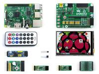 Raspberry Pi Model B+ Plus 512MB ARM11 Linux Mini PC + 3.5inch Raspberry pi LCD +Raspberry-pi Expansion Board+ Module Kits