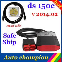 2014.02 free activer on cd new vci without bluetooth cdp ds150 SCANNER TCS cdp pro plus best newest master tcs cdp ds150 FS