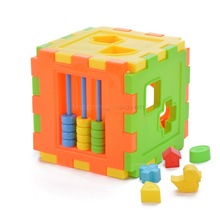 Baby block toys,Kids Baby Learning Toy  for children Educational Plastic Toys Construction Blocks Model #14 sv007840(China (Mainland))