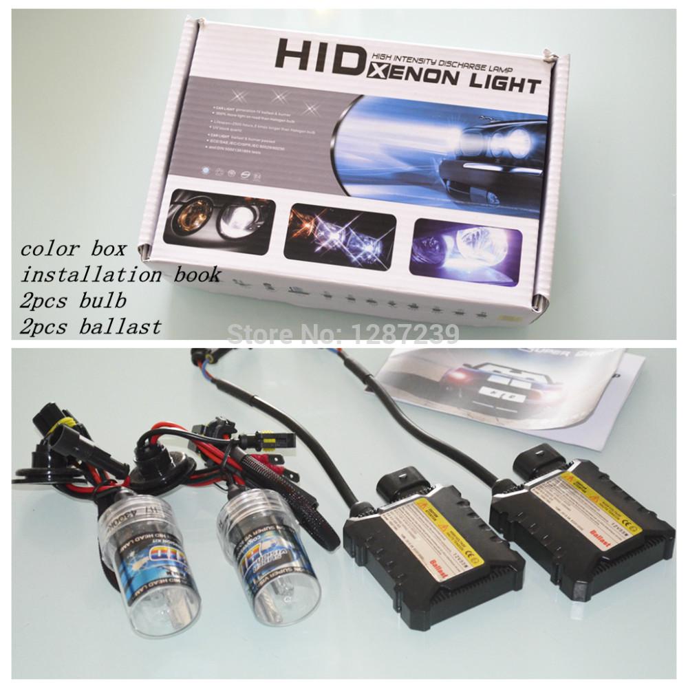 H1 HID Xenon Kit Car Headlight Auto lamp mini Ballast 35W 55w H11 h4-2 H7 H9 H1 9006 Bulb 4300K 6000K 8000K 10000K 12000K 12V(China (Mainland))