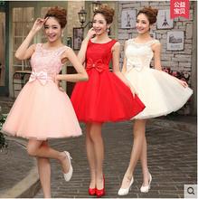 2014 vestidos de las nuevas de la manera barato vestido de encaje balón vestido de baile de promoción con tanques arco del amor de la princesa Vestidos(China (Mainland))