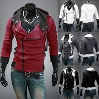 Plus size Sports Hooded Jacket Casual Winter Jackets hoody sportswear Men's Clothing Hoodies Sweatshirts  B19 CB030384