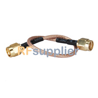 RP SMA male to SMA male Pigtail Cable RG316 15CM for wifi