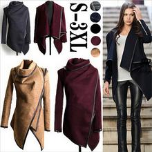 2014 Winter Coats Women Long Cashmere Overcoats Trench Desigual Down Jackets Designer Woman Wool Coats Fur Manteau Abrigos Mujer(China (Mainland))