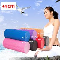 2014 Fashion 45x15cm EVA Physio Foam Roller Yoga Pilates Exercise Back Home Gym Massage NEW J111