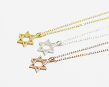 2015 Gold/Silver Fine Jewelry PVD Stainless Steel Tiny Star Statement Pendant Necklace for Women