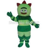Fancytrader Brobee Mascot Costume Yo Gabba Gabba Mascot Costume Brobee Fancy Dress Free Shipping Accept Drop Shipping FT30052