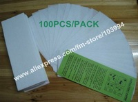 100PCS/Pack Depilatory Hair Removal Paper / Non-woven depilatory strips / Hair Removal Paper / Wax Strips / Depilatory Accessory