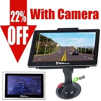 HOT 7'' GPS Navigator (M978) Bluetooth+MP4/MP3 + FM + eBook + Wireless Rear View Camera System with MAPs [1610033]-free shipping