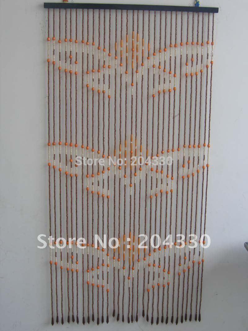 Online Get Cheap Wooden Bead Door Curtain  Aliexpress.com Alibaba . ...