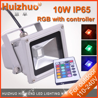 Big Discount[Huizhuo Lighting]LED Flood Light 10W/20W/30W/50W/70w/100W Warm White/White/RGB LED Floodlight Outdoor Lighting