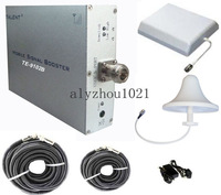 Whole set,800~1500sqm GSM 900MHz mobile signal Booster/Repeater/Amplifier/Enhancer TE-9102B+Panel+Ceiling Antenna+two Cables
