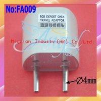 wholesale 100pcs/lot UK|US|AU To EU AC Power Converter EU Travel Adapter plug With Good quality #FA009