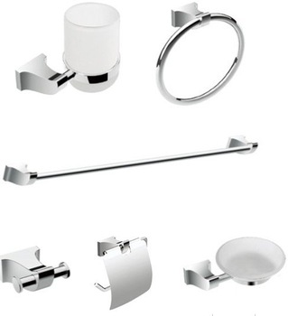 Free Shipping, Bathroom Accessories Set,  Bathroom Pack,Towel Bar, Towel Ring ,Paper Holder ,Robe Hook,Zinc alloy, CY-230/6 ,
