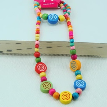 Young  handmade jewelry !Lovely jewelry set Young people lollipo necklace bracelet Fashion jewelry 0 CS12